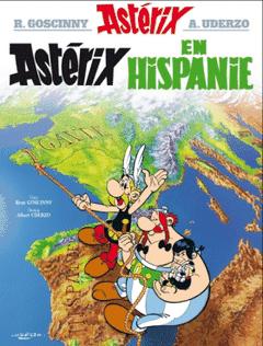 Couverture Astérix en Hispanie - Astérix, tome 14