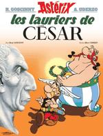 Couverture Les Lauriers de César - Astérix, tome 18
