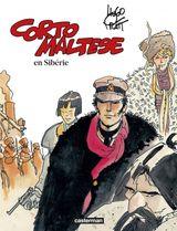 Couverture Corto Maltese en Sibérie - Corto Maltese, tome 4