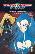 Couverture Galaxy Express 999, tome 21