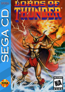 Jaquette Lords of Thunder