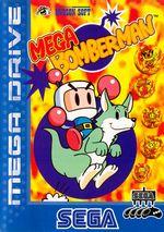 Jaquette Mega Bomberman