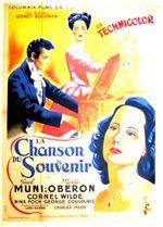 Affiche La Chanson du souvenir