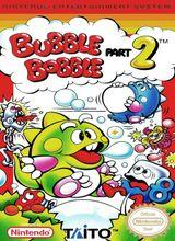 Jaquette Bubble Bobble : Part 2