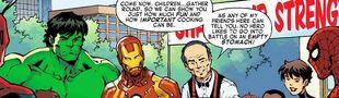 Cover Dans ma cuisine, univers cinématographique Marvel & DC ⍟