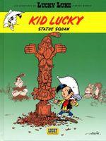 Couverture Statue squaw - Les Aventures de Kid Lucky d'après Morris, tome 3