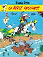 Couverture La Belle Province - Les Aventures de Lucky Luke d'après Morris, tome 1
