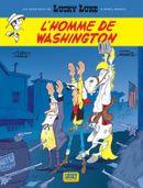 Couverture L'Homme de Washington - Les Aventures de Lucky Luke d'après Morris, tome 3