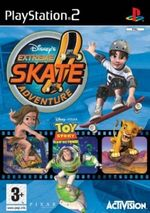 Jaquette Disney's Extreme Skate Adventure
