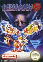 Jaquette Mega Man 3
