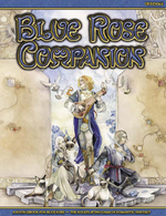 Couverture Blue rose companion