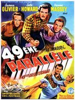 Affiche Le 49ème Parallèle