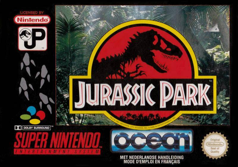 Jurassic park 1993 jeu vid o senscritique - Jeux de jurassic park 3 ...