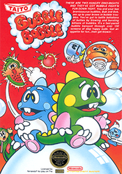 Jaquette Bubble Bobble