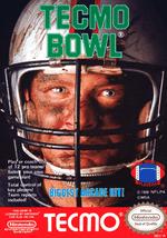 Jaquette Tecmo Bowl
