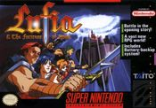 Jaquette Lufia & the Fortress of Doom