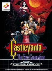 Jaquette Castlevania : The New Generation