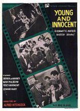 Affiche Jeune et innocent