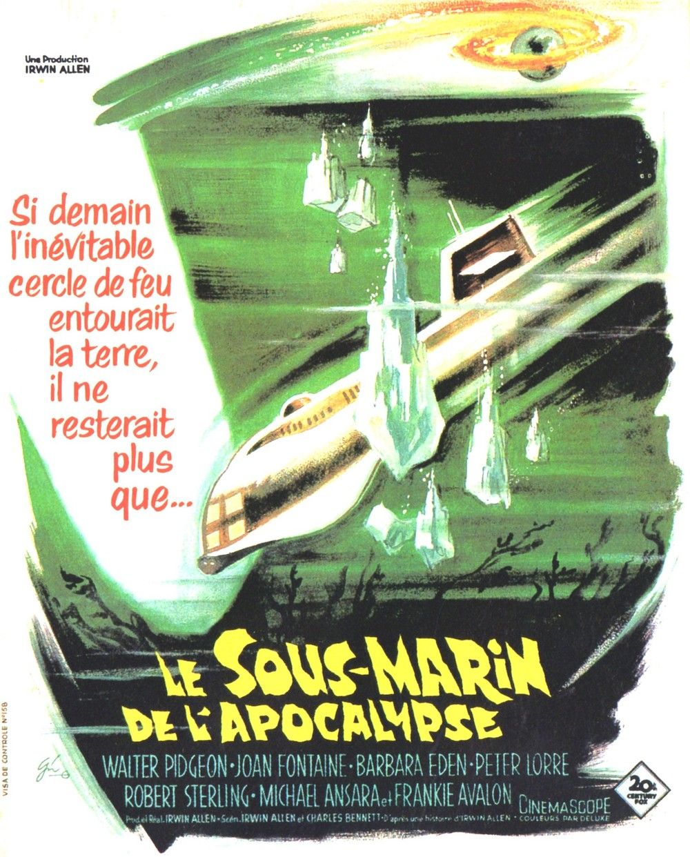 le sous marin de l 39 apocalypse film 1961 senscritique. Black Bedroom Furniture Sets. Home Design Ideas