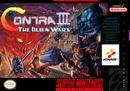 Jaquette Contra III : The Alien Wars
