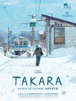 Affiche Takara, la nuit où j'ai nagé