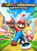 Jaquette Mario + The Lapins Crétins : Kingdom Battle