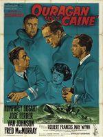 Affiche Ouragan sur le Caine
