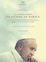 Affiche Le Pape François – Un homme de parole