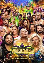 Affiche WrestleMania 34