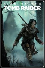 Jaquette Rise of the Tomb Raider : Le Tombeau de Baba Yaga