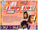 Pochette 25 Jaar Top 40 Hits, Deel 5: '81–'84