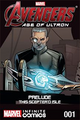 Couverture Avengers : Age of Ultron Prelude – This Scepter'd Isle Infinite Comic