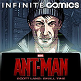 Couverture Ant-Man – Scott Lang, Small Time Infinite Comic