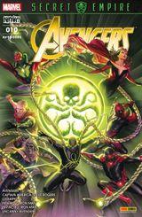 Couverture Sacrifices - Avengers (Marvel France 5e série), tome 10