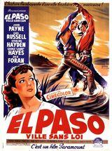 Affiche El Paso, ville sans loi