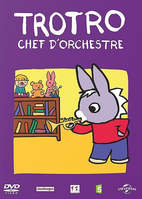 Trotro chef d 39 orchestre long m trage d 39 animation 2013 - Trotro fait de la musique ...