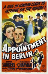 Affiche Appointment in Berlin