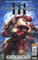 Couverture Warhammer 40,000: Dawn of War III - The Hunt for Gabriel Angelos