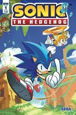 Couverture Le hérisson contre-attaque - Sonic the Hedgehog, tome 1