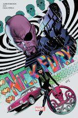 Couverture Nick Fury : Le train des assassins