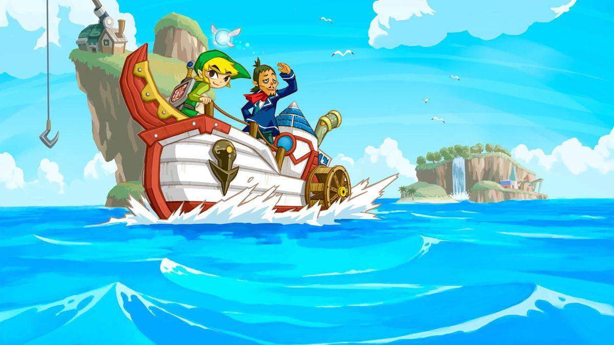 The Legend Of Zelda Phantom Hourglass 2007 Jeu Video