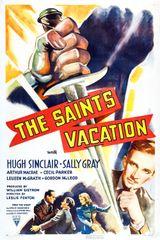 Affiche Pas de vacances pour le Saint