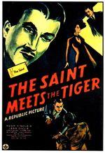 Affiche Le Saint face au Tigre