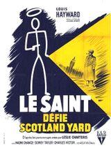 Affiche Le Saint défie Scotland Yard