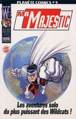 Couverture Planète Comics 9 - Mr Majestic