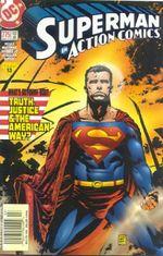 Couverture Action Comics 775