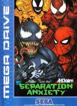 Jaquette Spider-Man & Venom : Separation Anxiety