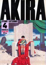 Couverture Akira (Édition originale noir et blanc), tome 4