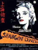 Affiche Shanghaï Express