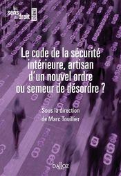 Couverture Le code de la sécurité intérieure